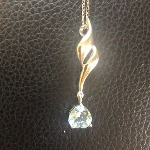 Silver 925 chain with a beautiful pendant